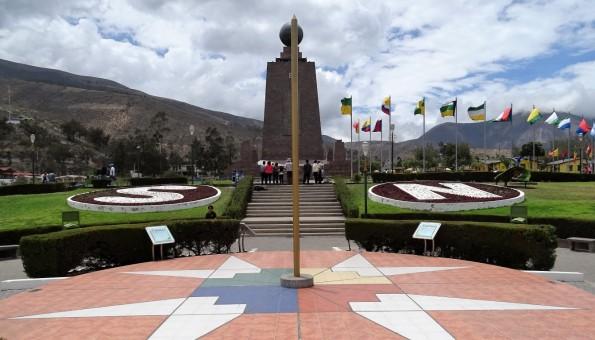 Metade do Mundo, uma das principais atrações em Quito