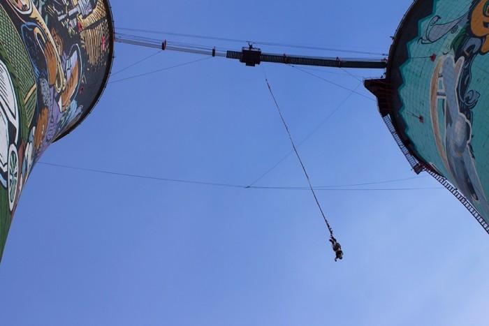 Bungee Jump em Joanesburgo - Foto Guilherme Tetamanti