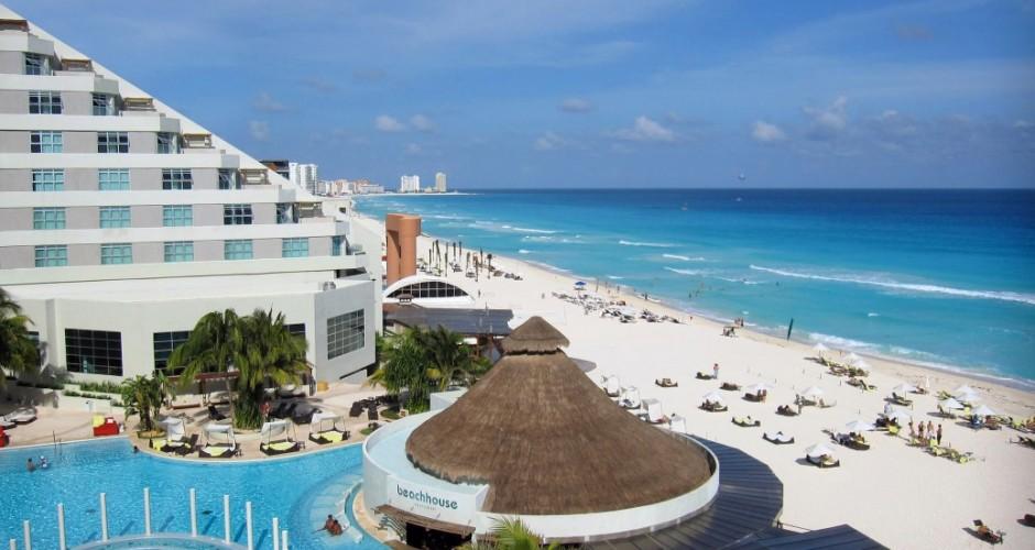 ME Cancun - Piscina e praia