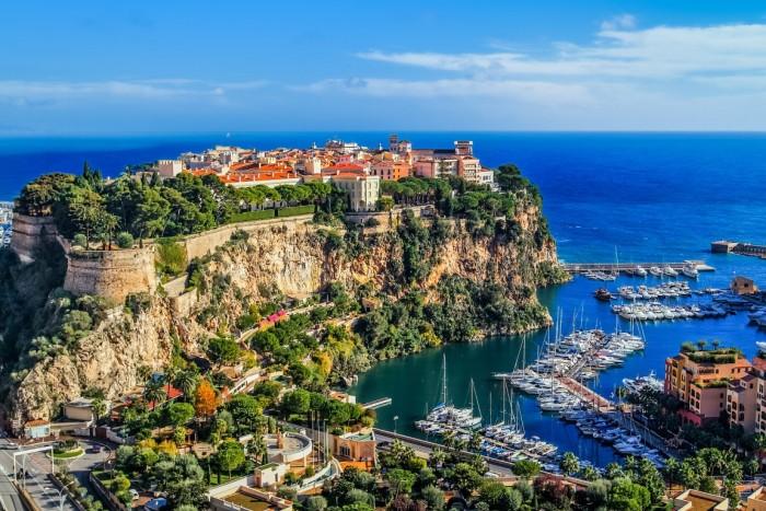 Monaco - Falésias