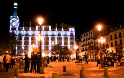 Plaza Santa Ana - Barrio de las Letras - Credito Divulgacao