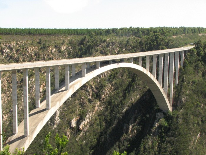 Ponte na Garden Route - Foto Geraldo ExaGera