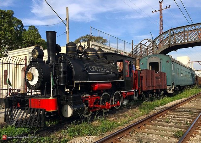 Trem dos Imigrantes / Foto: Site São Paulo Antiga