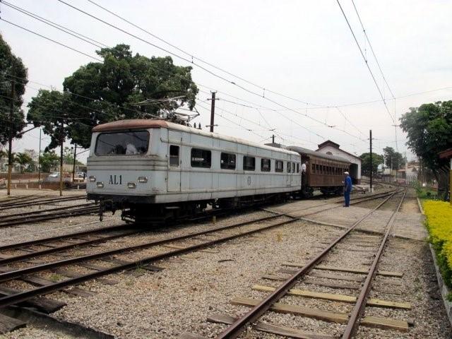 Trem para o Parque das Águas Claras, Pindamonhangaba - Foto: EFCJ