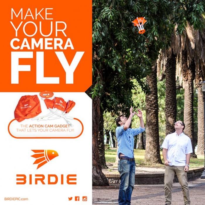 Faça sua câmera voar com Birdie