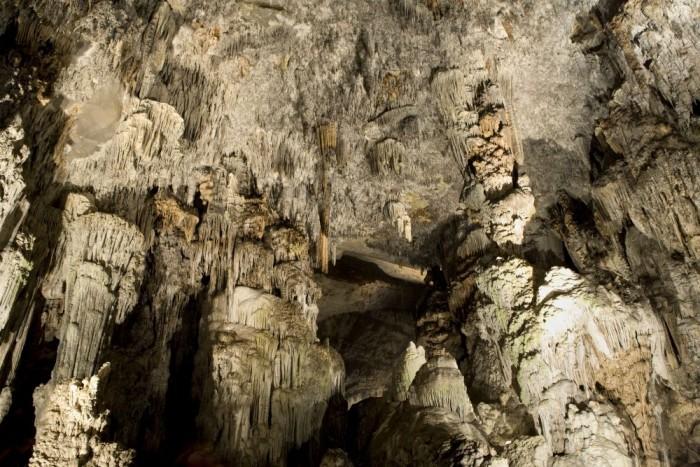 Interior Grutas de Cacahuamilpa