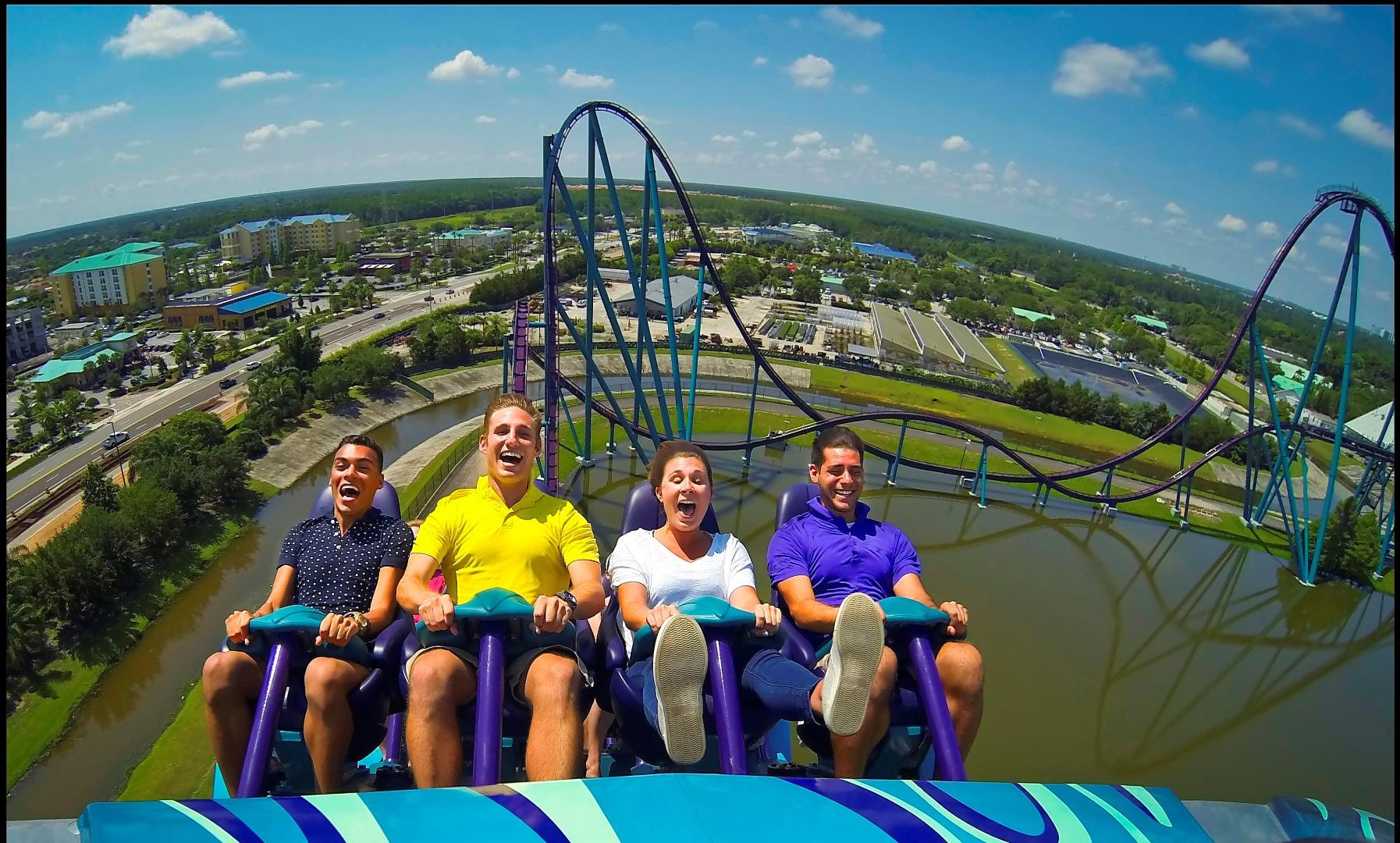 MAKO, a mais alta, mais rápida e mais longa montanha-russa do SeaWorld Orlando