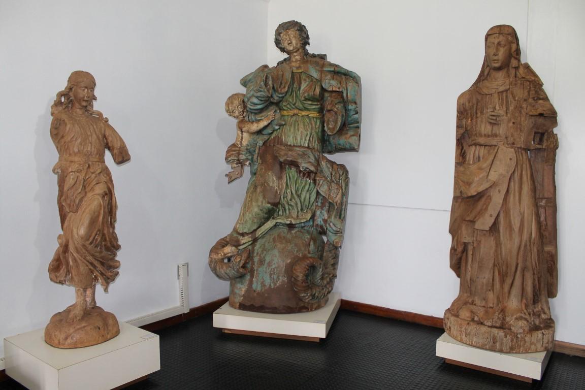Esculturas do Museu