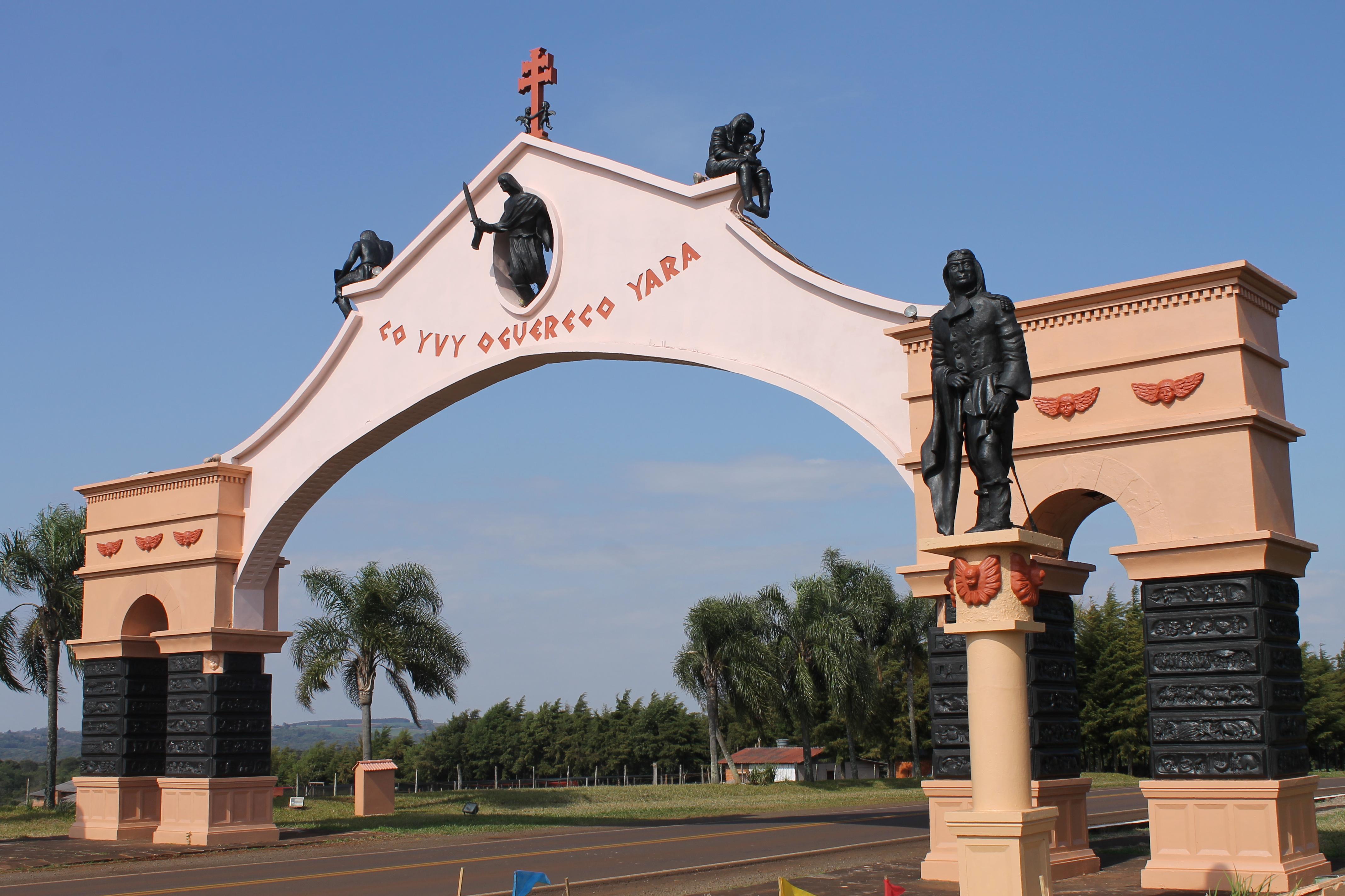 Pórtico da Cidade de São Miguel das Missões