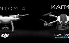 DJI Phantom 4 ou GoPro Karma: qual o melhor drone?