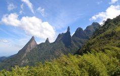 Vista do Mirante do Soberbo em Teresópolis