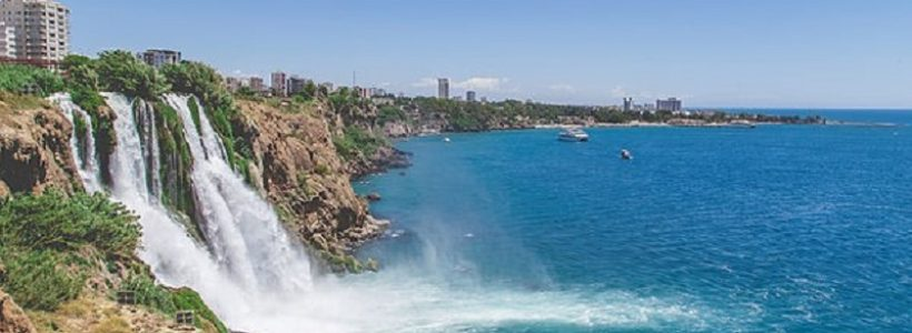 Cachoeira em Antalya - Turquia