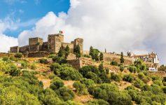 Castelo de Reguengos de Monsaraz, no Alentejo