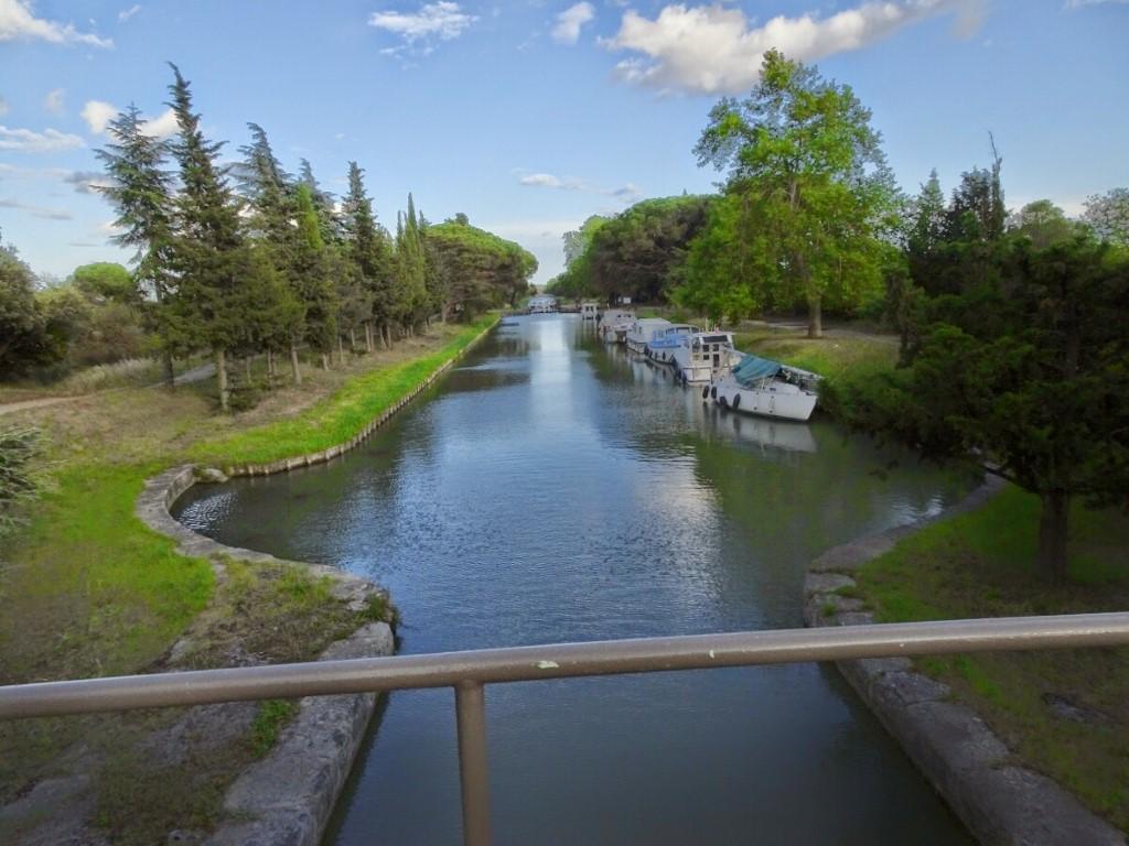 CANAL DO MIDI - Barcos de passeio no Canal Du Midi