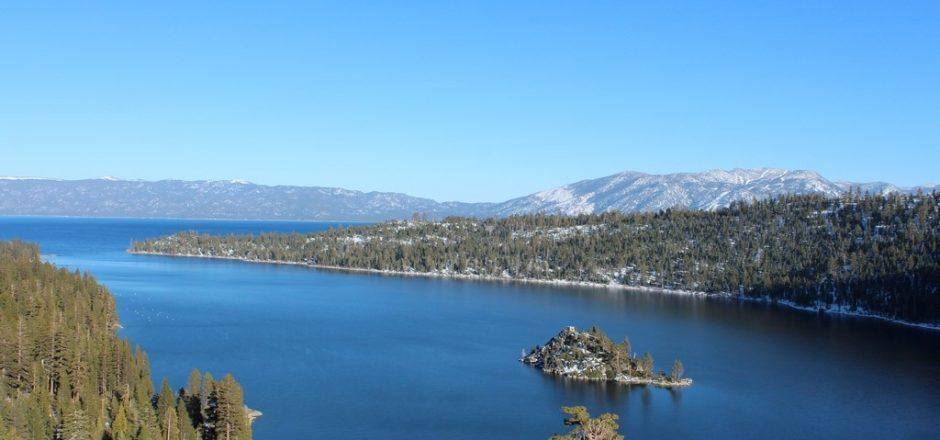 Emerald Bay, o cartão postal de Lake Tahoe