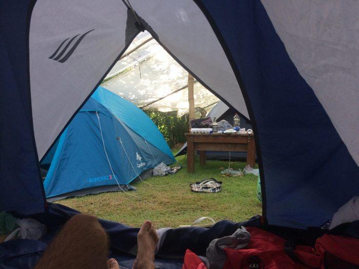 Praia do Sono - Acampamento