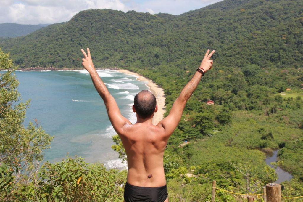 Praia do Sono - Vista maravilhosa da trilha para Ponta Negra