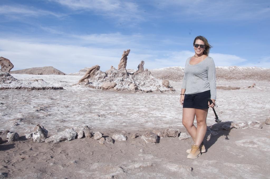 Três Marias e eu querendo ser a quarta no Valle de La Luna