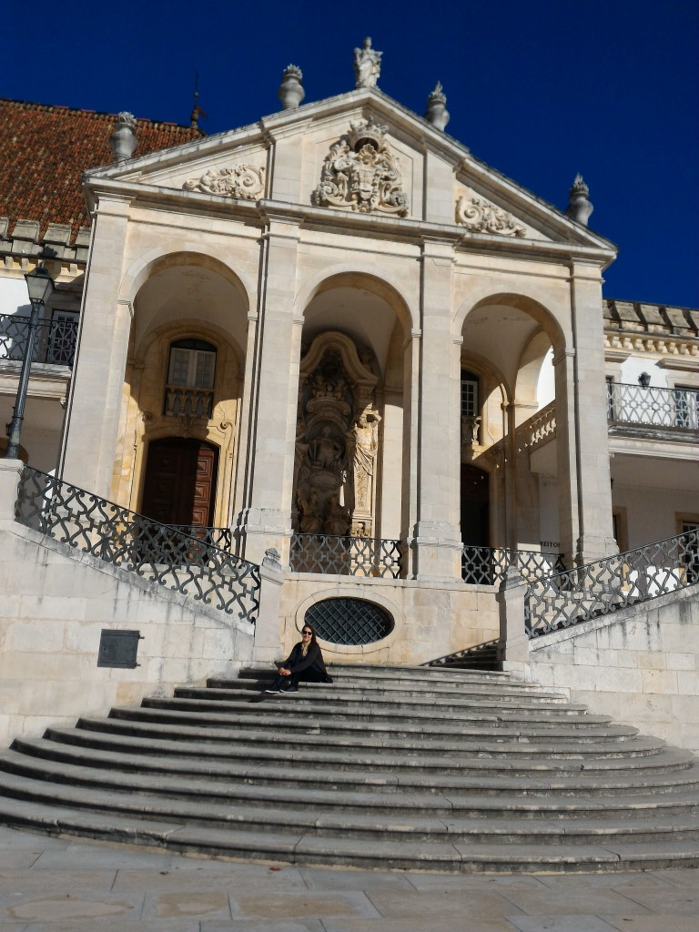 Portugal - Escadarias da Universidade de Coimbra
