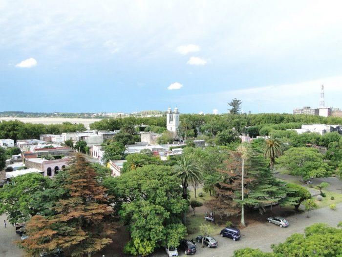 Vista do Farol: cidade verde