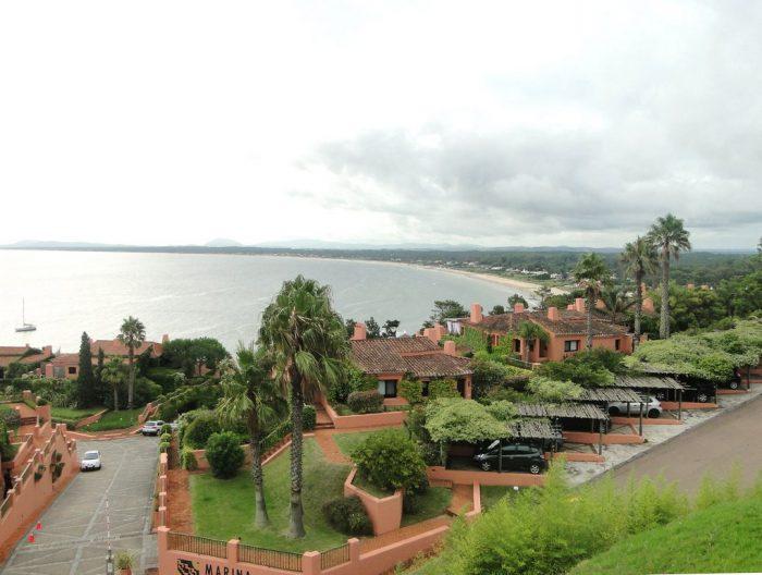 Vista do alto de La Barra
