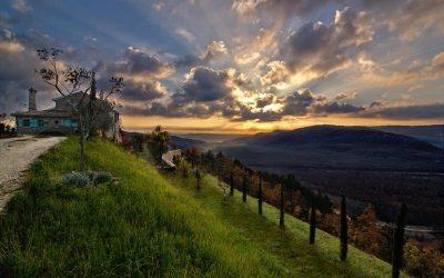 Pôr-do-sol na Croácia