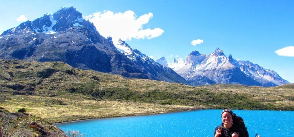 Parque Nacional Torres del paine, no Chile