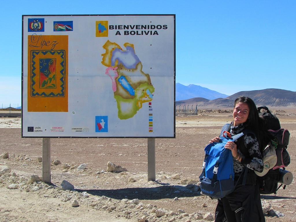 Viajando de carona entre Chile e Bolívia