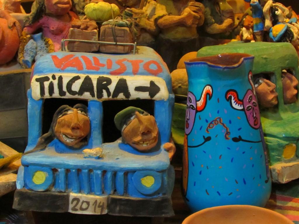 Lembrancinha da cidade de Tilcara, na Argentina