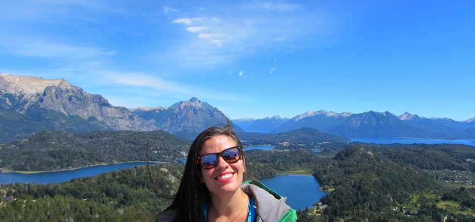 Bariloche - Cerro Campanário, uma das vistas mais famosas da cidade