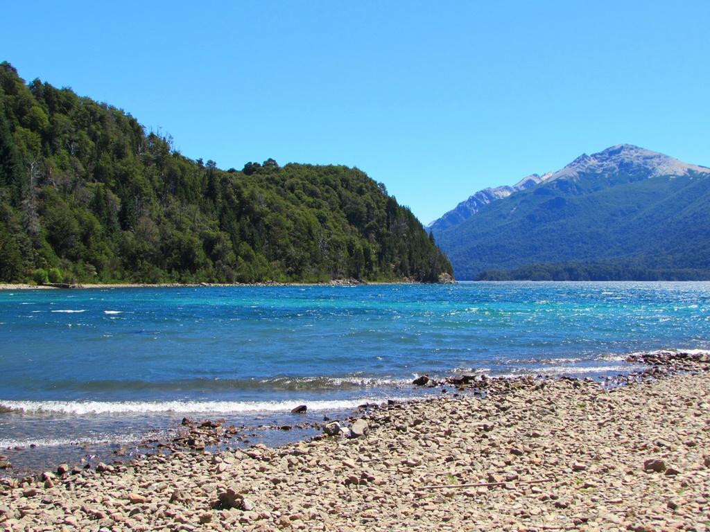 """Vila Tacul, uma das muitas """"praias"""" de Bariloche"""