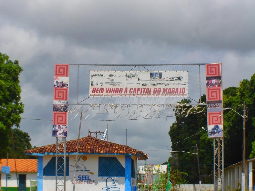 Entrada de Soure, capital do Marajó