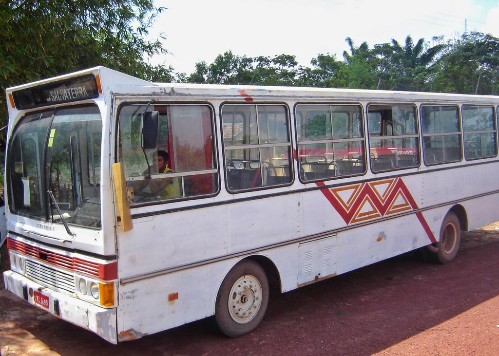 Ônibus que leva a Salvaterra e Soure, na Ilha de Marajó