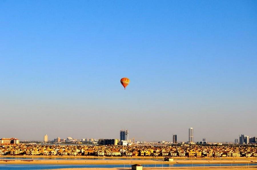 Passeios de balão em Dubai, Emirados Árabes Unidos
