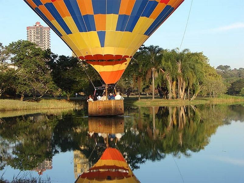 Passeios de balão em Piracicaba, Brasil