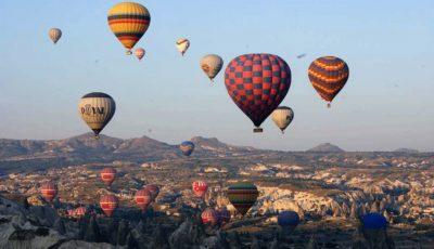 Passeios de balão na Capadócia, Turquia