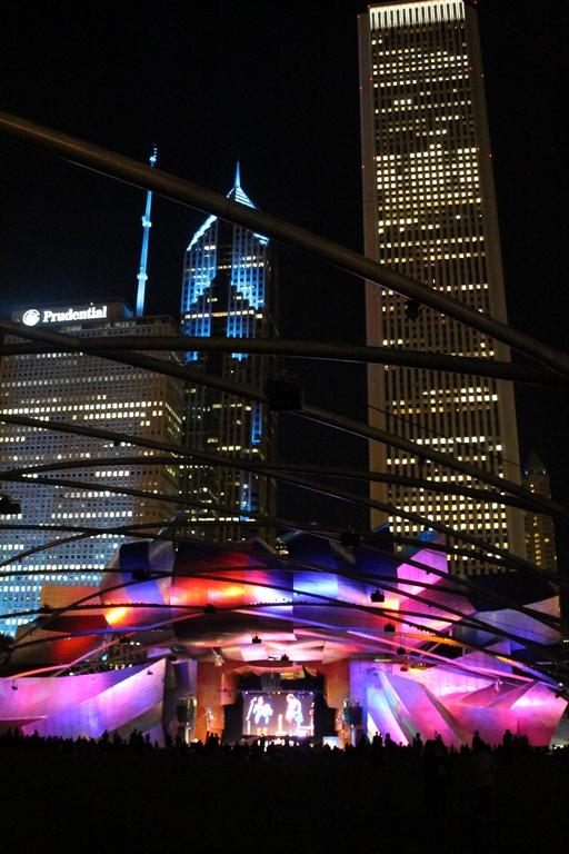 Festival de Jazz no Millenium Park, em Chicago