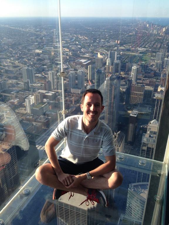 Chicago - Varanda de vidro no Skydeck