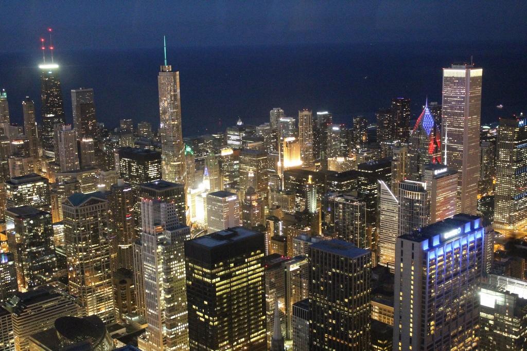 Chicago vista do Skydeck