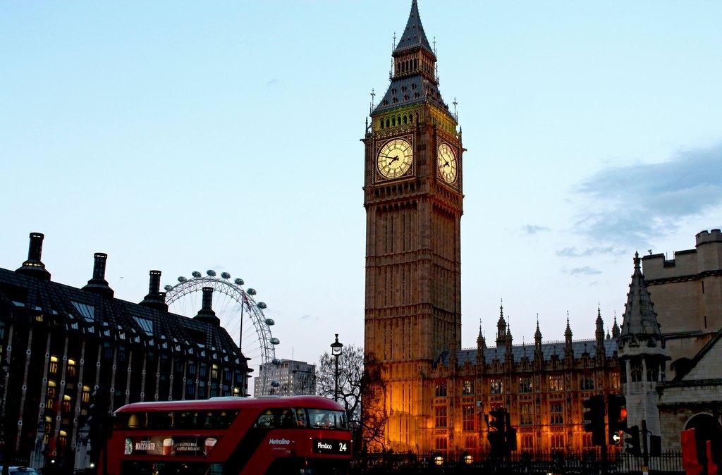 Londres - Foto tipicamente londrina!