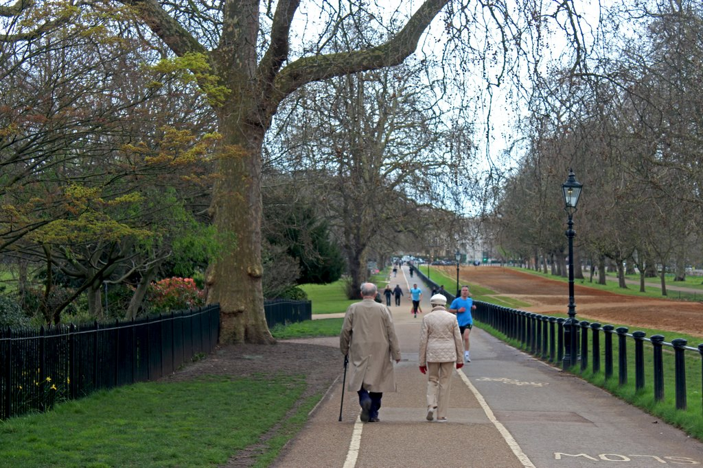 Passeio pelo Hyde Park