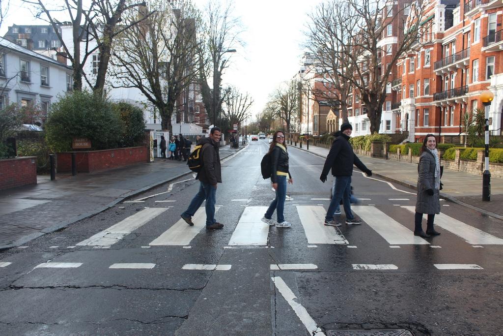 Cover dos Beatles em Abbey Road