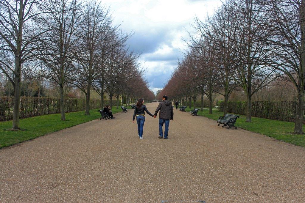 Caminhada por mais um parque inesquecível, Regent´s Park