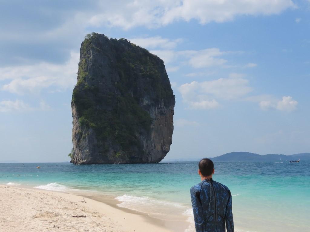 Poda Island, uma das atrações da região de Krabi
