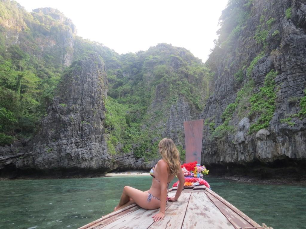 """""""Nosso"""" long tail desbravando Phi Phi Island"""