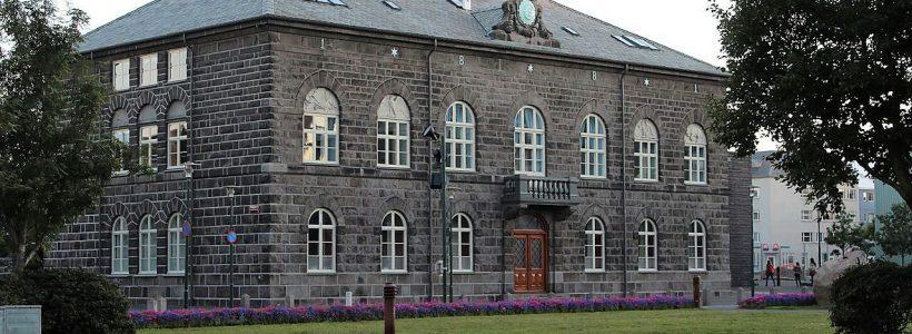 Parlamento na Islândia