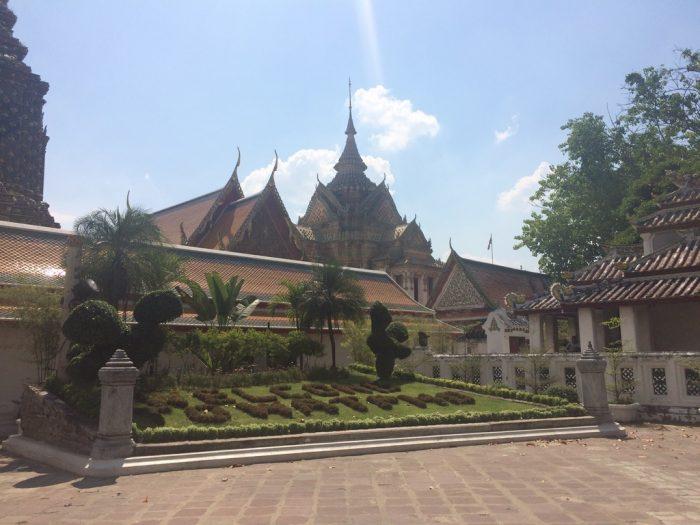 Wat Pho - O templo do Buda Reclinado