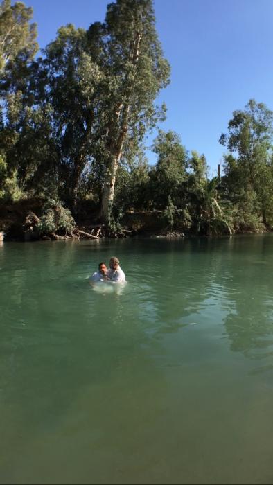 Momento do Batizado