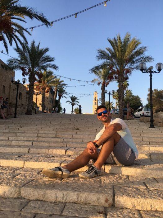Modelando em Jaffa