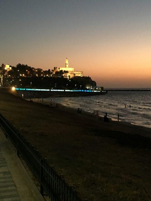 Jaffa vista de Tel Aviv